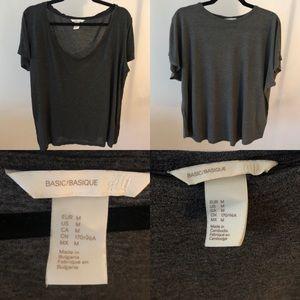 2 H&M Basic ShortSleeve T-Shirts
